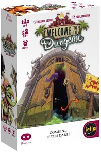 Welcome to the Dungeon (Card Game) - Cover
