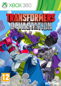 Transformers: Devastation (Xbox 360) - Cover