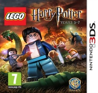 Lego Harry Potter Years 5 - 7 (3DS) - Cover