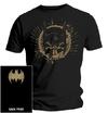 Batman - Gold Skull Mask - T-Shirt  (XX-Large)