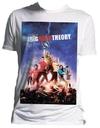 Big Bang Theory - Poster T-Shirt (Small) Cover