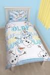 Disney Frozen Olaf Rotary Duvet Set (Single)