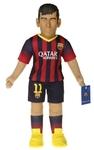 BubuzZ - Neymar Jr - FC Barcelona Football Figure Doll Sports Doll /Toys