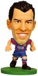 Soccerstarz Figure - Barcelona Sergio Busquets - Home Kit (2014 version)