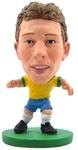 Soccerstarz Figure - Brazil Lucas Leiva - Home Kit