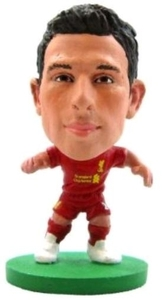 Soccerstarz Figure - Liverpool Joe Allen - Home Kit (2014 version) - Cover