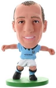 Soccerstarz Figure - Manchester City Pablo Zabaleta Home Kit (2014 version) - Cover
