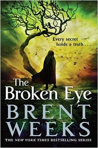 The Broken Eye - Brent Weeks (Paperback) - Cover