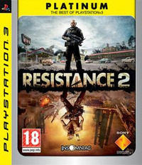 Resistance 2 (PS3) - Cover