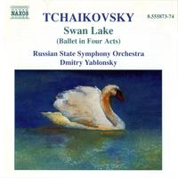 Tchaikovsky / Yablonsky / Russian State So - Swan Lake (CD) - Cover