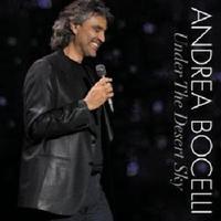 Andrea Bocelli - Under The Desert Sky (DVD) - Cover