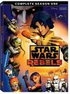Star Wars Rebels - Season 1 (DVD) Cover