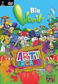 Bin Weevils Arty Arcade (PC) - Cover