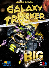 Galaxy Trucker - The Big Expansion (Board Game) - Cover