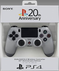 Sony DUALSHOCK 4 Wireless Controller - 20th Anniversary Edition (PS4) - Cover