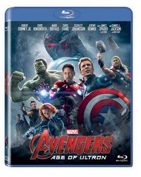 Avengers: Age of Ultron (Blu-ray) - Cover