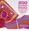200 Crochet Blocks for Blankets, Throws and Afghans - Jan Eaton (Paperback)