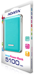 ADATA PV120 5100 mAh Dual Output Powerbank - Blue
