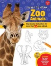 Learn to Draw Zoo Animals - Robbin Cuddy (Paperback)