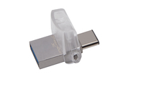 Kingston DataTraveler microDuo 3C USB 3.0 & USB 3.1  Dual Interface 32GB Flash Drive - Cover