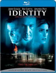 Identity (Blu-ray) - Cover