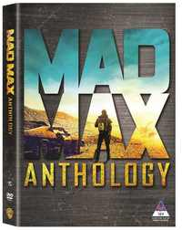 Mad Max Anthology (DVD) - Cover