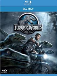 Jurassic World (Blu-ray) - Cover