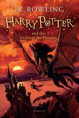 Harry Potter and the Order of the Phoenix - J. K. Rowling (Paperback) - Cover