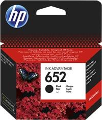 HP 652 Black Original Ink Advance Cartridge - Cover
