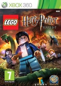LEGO Harry Potter: Years 5-7 (Xbox 360) - Cover
