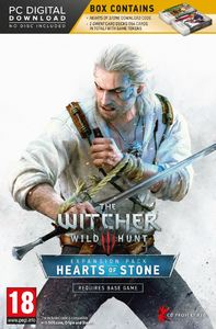 The Witcher 3: Wild Hunt - Hearts of Stone (PC) - Cover