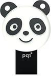 PQI Energetic Panda 64GB USB 3.0/Micro USB Dual Flash Drive - Black