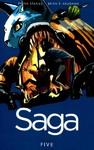Saga - Vol. 5 - Brian K. Vaughan (Paperback)