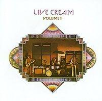 Cream - Live Cream Vol. II (Vinyl) - Cover