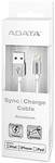 ADATA Sync and Charge Lightning Cable - Silver (100cm)