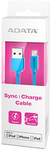 ADATA Sync and Charge Lightning Cable - Blue (100cm)