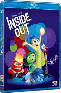 Inside Out (3D Blu-ray) - Cover