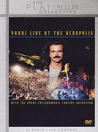 Yanni - At the Acropolis (Region 1 DVD) - Cover