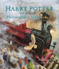 Harry Potter and the Philosopher's Stone - J. K. Rowling (Hardcover) - Cover