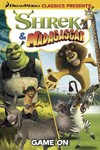 Dreamworks Classics, Shrek & Madagascar, Game On - Dan Abnett (Paperback) Cover