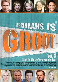 Various Artists - Afrikaans Is Groot Vol 8 (DVD) - Cover