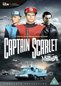 Captain Scarlet and the Mysterons: The Complete Series (DVD) - Cover