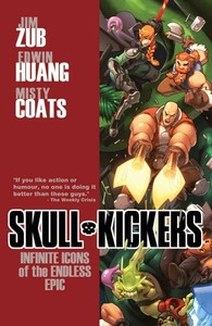 Skullkickers Volume 6: Infinite Icons of the Endless Epic - Jim Zub (Paperback) - Cover