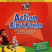 Cedarmont Kids - Classics: Action Bible Songs (CD) - Cover