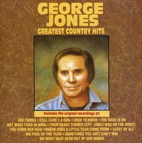 George Jones - Greatest Country Hits (CD) - Cover