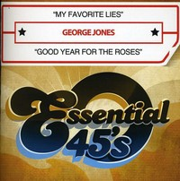 George Jones - My Favorite Lies / Good Year For the Roses (CD) - Cover