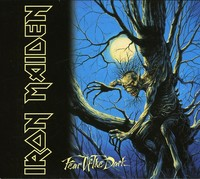 Iron Maiden - Fear of the Dark (CD) - Cover