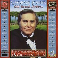 George Jones - Heartwarming Gospel: 18 Greatest Hits (CD) - Cover