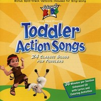Cedarmont Kids - Toddler Action Songs (CD) - Cover