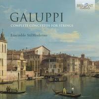 Galuppi / Ensemble Stil Moderno - Complete Concertos For Strings (CD) - Cover